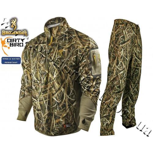 Browning® Dirty Bird™ Smoothbore Fleece Set Mossy Oak® Shadow Grass® Blades™