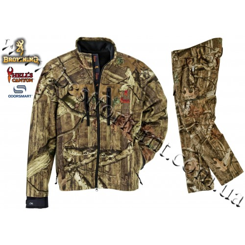 Browning® Hell's Canyon™ Hunting Set Mossy Oak® Break-Up® Infinity™