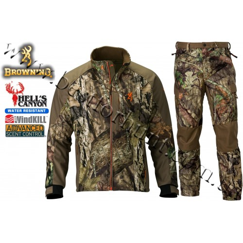 Browning® Hell's Canyon™ Soft Shell Hunting Set Mossy Oak® Break-Up® COUNTRY™