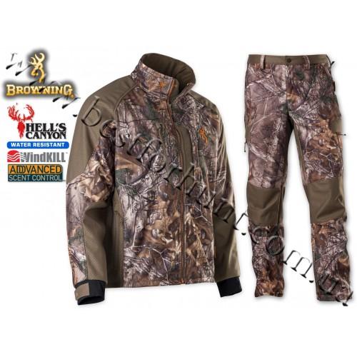 Browning® Hell's Canyon™ Soft Shell Hunting Set Realtree Xtra®