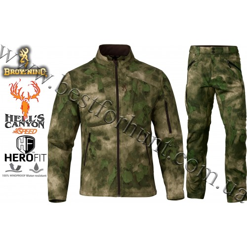 Browning® Hell's Canyon™ Speed Backcountry Hunting Set A-TACS FG Camo™