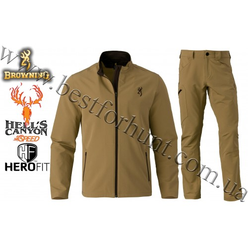 Browning® Hell's Canyon™ Speed Javelin Set Tan