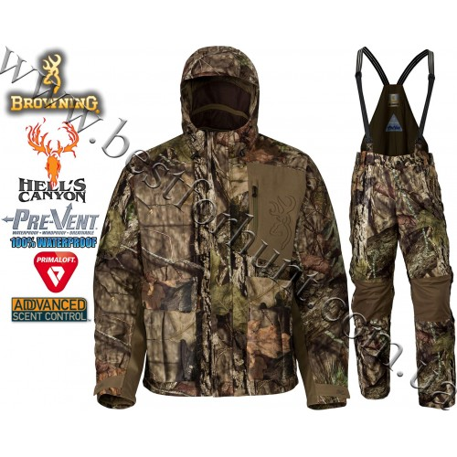 Browning® Hell's Canyon™ Waterproof PrimaLoft® Insulated Hunting Set Mossy Oak® Break-Up® COUNTRY™