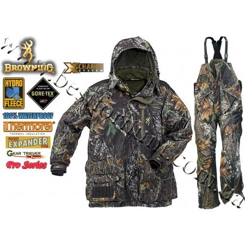 Browning® Hydro-Fleece™ Pro Series™ GORE-TEX® 4-in-1 Set Mossy Oak® Break-Up®