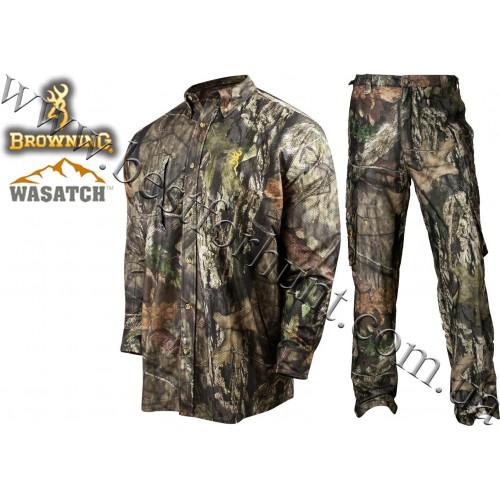 Browning® Wasatch™ Mesh-Lite Long Sleeve Set Mossy Oak® Break-Up® COUNTRY™