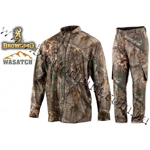 Browning® Wasatch™ Mesh-Lite Long Sleeve Set Realtree Xtra®