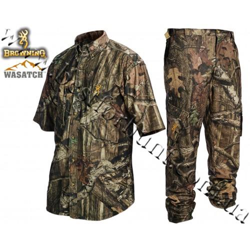 Browning® Wasatch™ Mesh-Lite Short Sleeve Set Mossy Oak® Break-Up® Infinity™