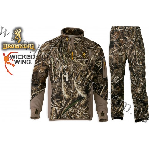 Browning® Wicked Wing™ Smoothbore Fleece Hunting Set Realtree MAX-5®
