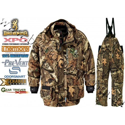 Browning® XPO™ Big Game Pre-Vent® Waterproof Insulated 4-in-1 Mossy Oak® Break-Up® Infinity™