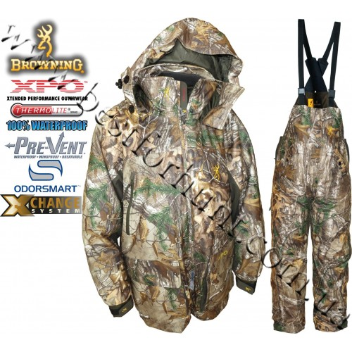 Browning® XPO™ Big Game Pre-Vent® Waterproof Insulated 4-in-1 Realtree Xtra®