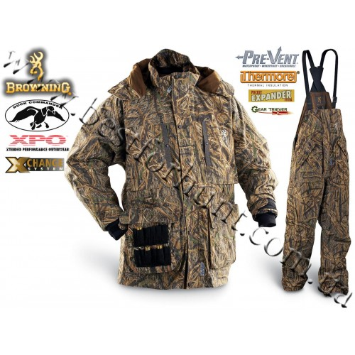 Browning® XPO™ Pre-Vent® Duck Commander® 4-in-1 Set Mossy Oak® Shadow Grass®