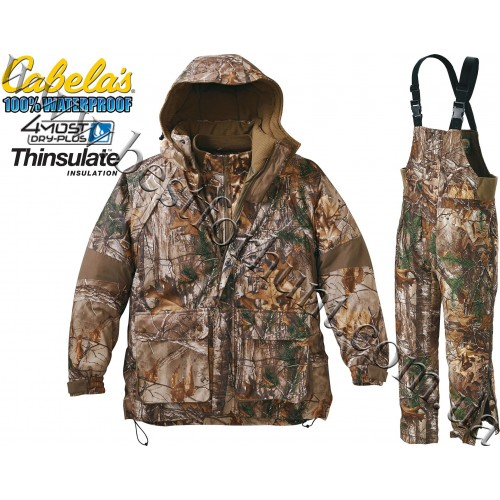 Cabela's 10-Point 4-in-1 4MOST Dry-Plus® Hunting Set Realtree Xtra®