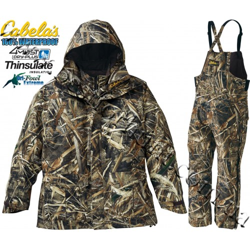 Cabela's Dri-Fowl II™ Extreme™ 4-in-1 Set with Thinsulate™ and 4MOST DRY-PLUS® Realtree MAX-5®