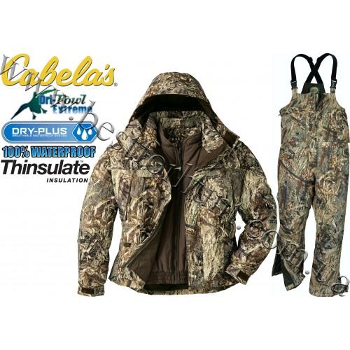 Cabela's Dry-Plus® Dri-Fowl™ Waterfowl Hunting Set Mossy Oak® Duck Blind®
