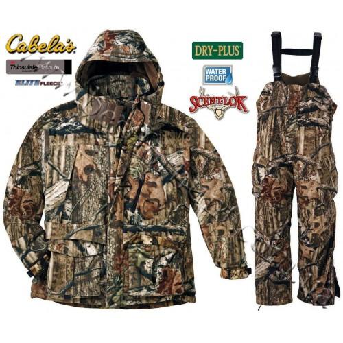 Cabela's Dry-Plus® Elite™ Fleece Scent-Lok® Insulated Mossy Oak® Break-Up® Infinity™