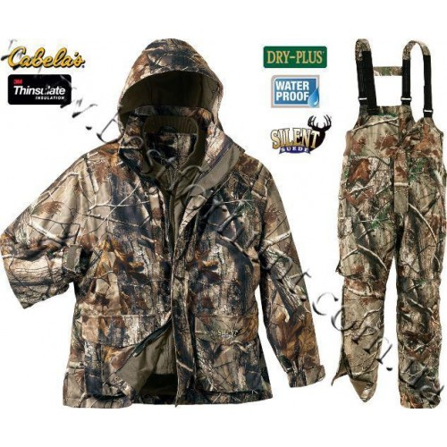 Cabela's Dry-Plus® Silent Suede™ Extreme 4-in-1 Realtree AP®