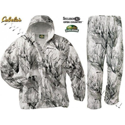Cabela's Lightweight Coverup Seclusion 3D® Open Country® Winter