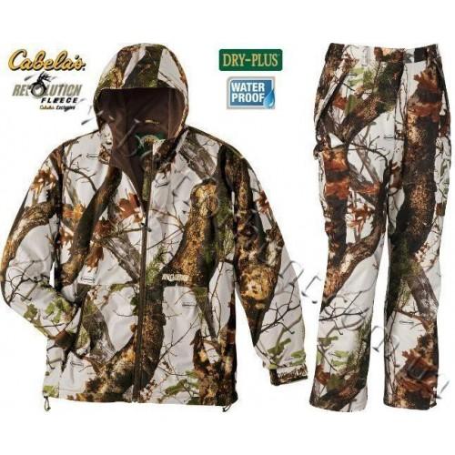 Cabela's Revolution™ Fleece Dry-Plus® Uninsulated Vertigo™ Grey