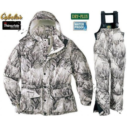Cabela's Waterproof Insulated Snow Seclusion 3D® Open Country® Winter