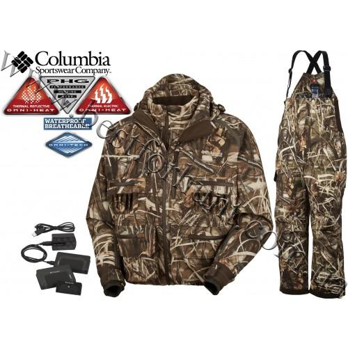 Columbia Sportswear® PHG™ Omni-Heat® Electric Wader Widgeon™ Interchange 3-in-1 Realtree MAX-4®