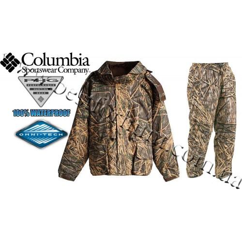 Columbia Sportswear® Quickloader Omni-Tech® Widgeon 3-in-1 Set Mossy Oak® Shadow Grass®