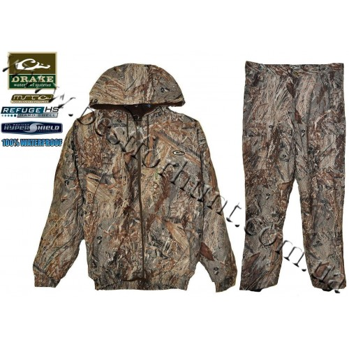 Drake Waterfowl® MST™ Refuge Waterproof Hunting Set Mossy Oak® Duck Blind®