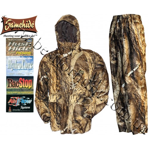 Gamehide® Trails End™ Hush Hide® Waterproof Camo Naked North®