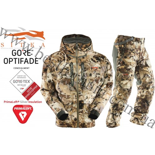 Sitka® Gear Boreal Hunting Set GORE™ OPTIFADE™ Concealment Waterfowl Marsh