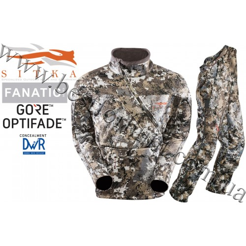 Sitka™ Gear Fanatic Lite Hunting Set GORE™ OPTIFADE™ Concealment Elevated II