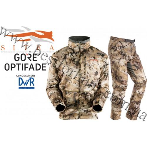Sitka™ Gear Gradient Berber Fleece Huntig Set GORE™ OPTIFADE™ Concealment Waterfowl Marsh