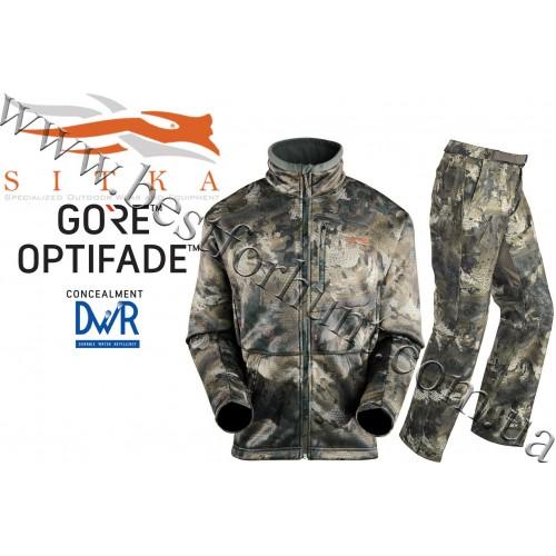 Sitka™ Gear Gradient Berber Fleece Huntig Set GORE™ OPTIFADE™ Concealment Waterfowl Timber