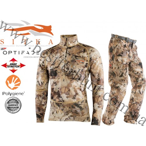 Sitka® Gear Grinder Hunting Set GORE™ OPTIFADE™ Concealment Waterfowl Marsh
