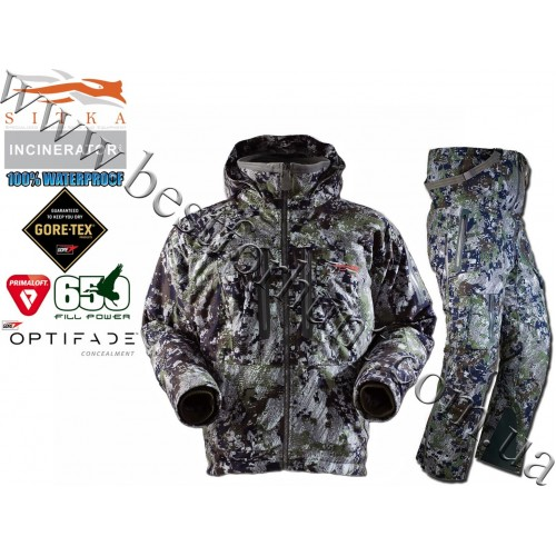 Sitka™ Gear Incinerator™ Insulated Hunting Set GORE™ OPTIFADE™ Concealment Forest