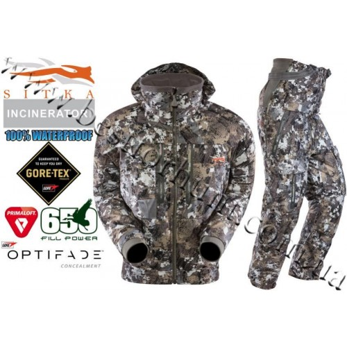 Sitka® Gear Incinerator™ Insulated Set GORE™ OPTIFADE™ Concealment Elevated II