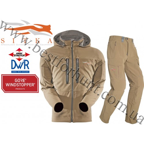 Sitka™ Gear Jetstream Jacket with Mountain Pant in Dirt