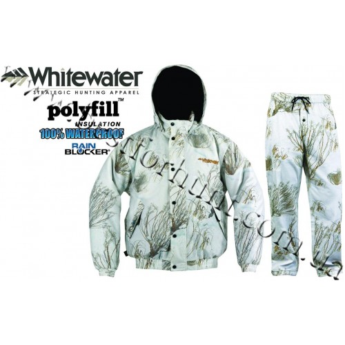 Whitewater® Drencher™ Insulated Snow Set Mossy Oak® Winter Brush®