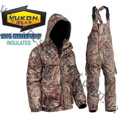 Yukon Gear® 3-in-1 Waterproof Insulated Hunting Set Mossy Oak® Duck Blind®