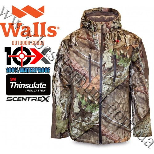 10X® Silent Quest Scentrex® Insulated Hunting Parka Mossy Oak® Break-Up® COUNTRY™