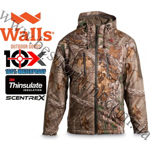 10X® Silent Quest Scentrex® Insulated Hunting Parka Realtree Xtra®