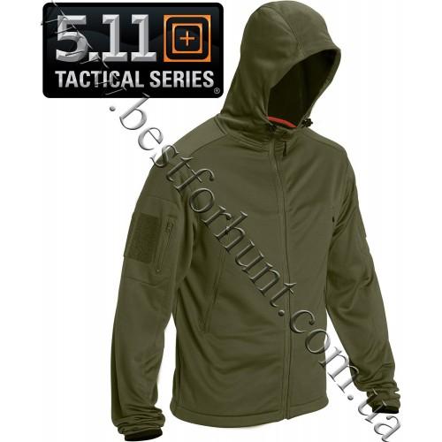 5.11 Tactical® Reactor Full Zip Hoodie Fatigue