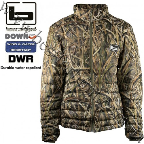 Banded® Agassiz 800 Fill Power Goose Down Jacket Mossy Oak® Shadow Grass® Blades™