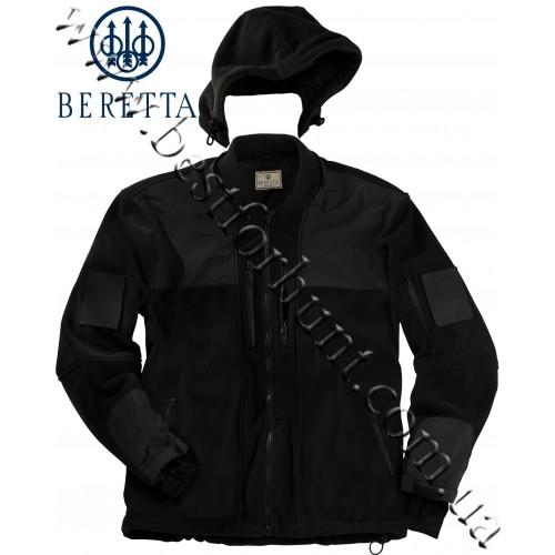 Beretta® Tactical Fleece Jacket GU06 5031 0999 Black