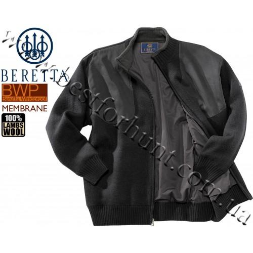 Beretta® Wind Barrier Long Zip Sweater PU33 Gray
