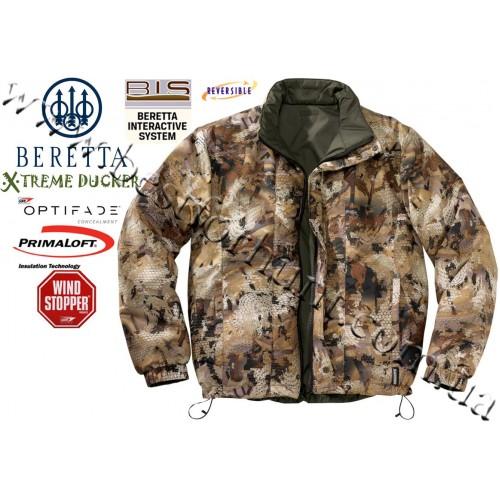 Beretta® Xtreme Ducker™ BIS Jacket GUZ6 GORE™ OPTIFADE™ Concealment Waterfowl Marsh