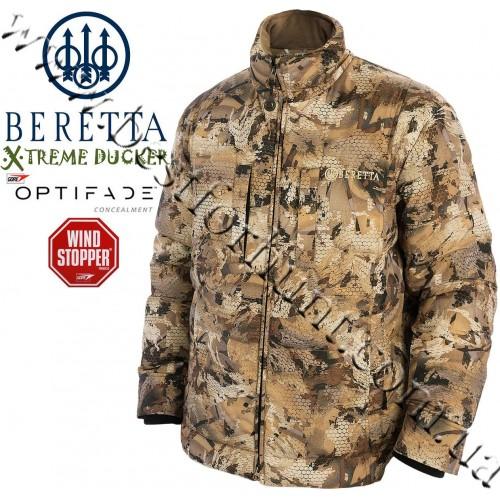 Beretta® Xtreme Ducker™ Down Insulated Jacket GORE™ OPTIFADE™ Concealment Waterfowl Marsh