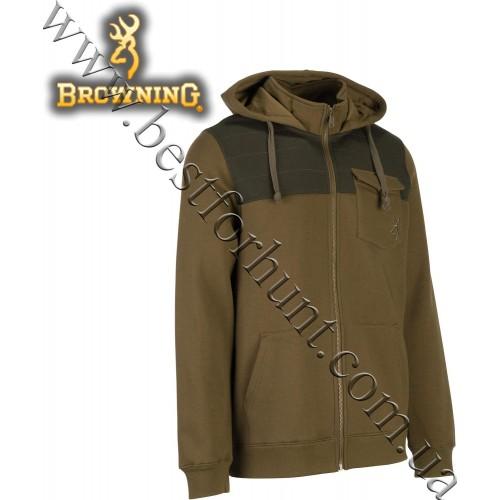 Browning® Blake Full-Zip Sweatshirt Hoodie Beech