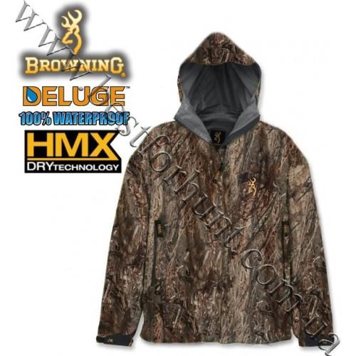 Browning® Deluge™ HMX™ Waterproof Jacket Mossy Oak® Duck Blind®