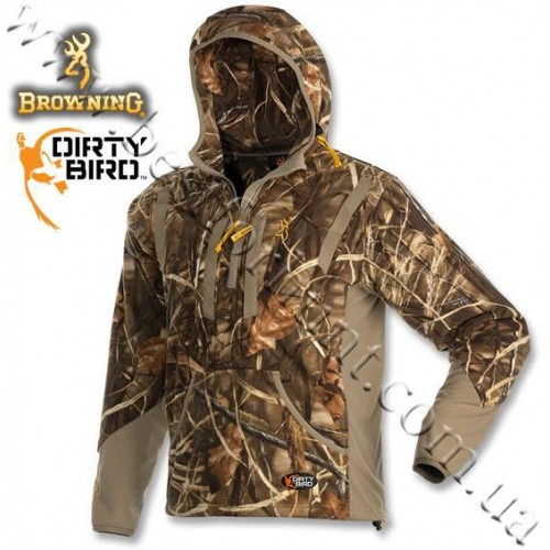 Browning® Dirty Bird™ Fleece Hoodie Realtree MAX-4®