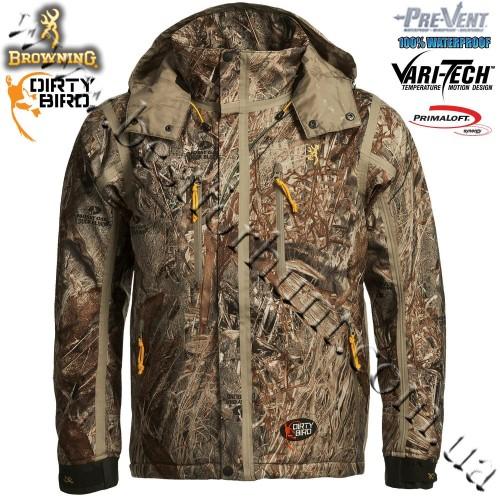 Browning® Dirty Bird™ Pre-Vent® Vari-Tech Waterproof Insulated Jacket Mossy Oak® Duck Blind®