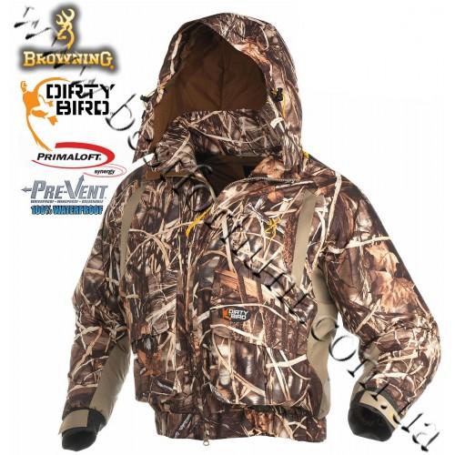 Browning® Dirty Bird™ Pre-Vent® Waterproof Insulated Wader Jacket Realtree MAX-4®